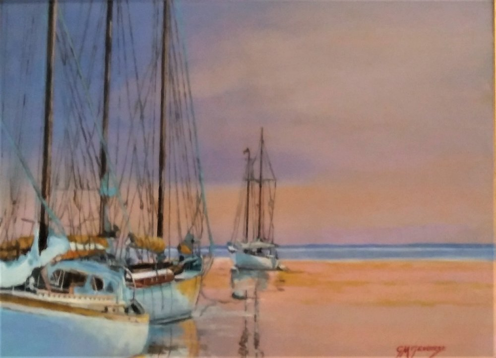 "Gigi Genovese's ""Sails in the Sunset"""