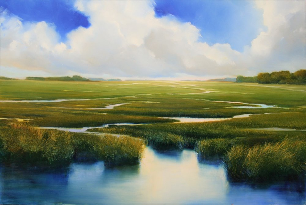 "Janine Robertson's ""Endless Blue"""