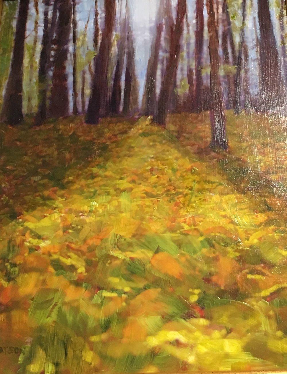 """Jean Watson's """"A Walk in the Woods II"""""""