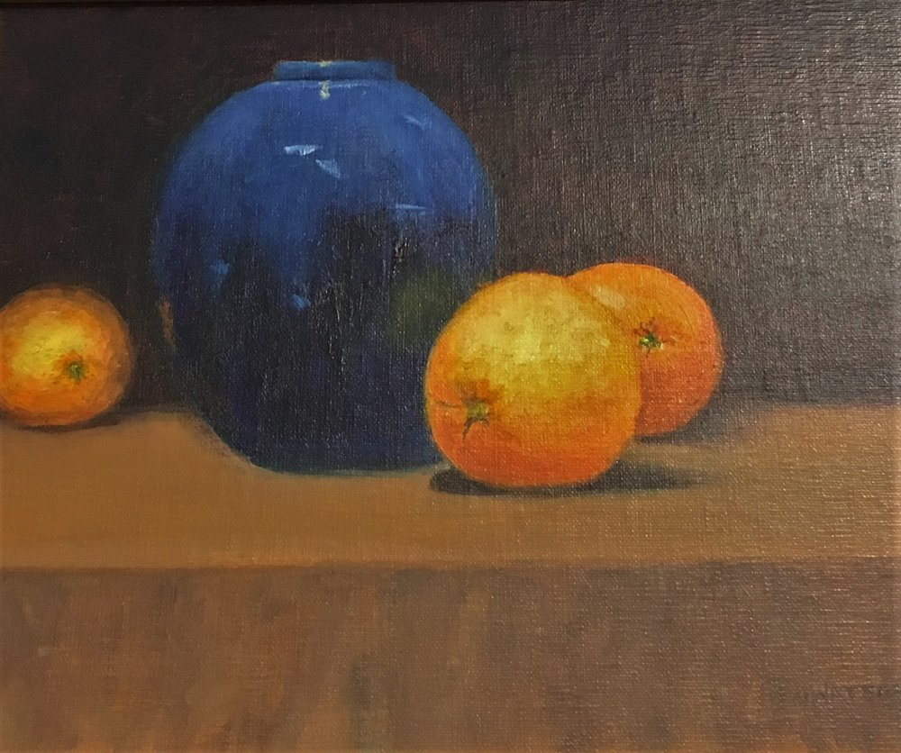 "Jean Watson's ""Still Life with Oranges"""