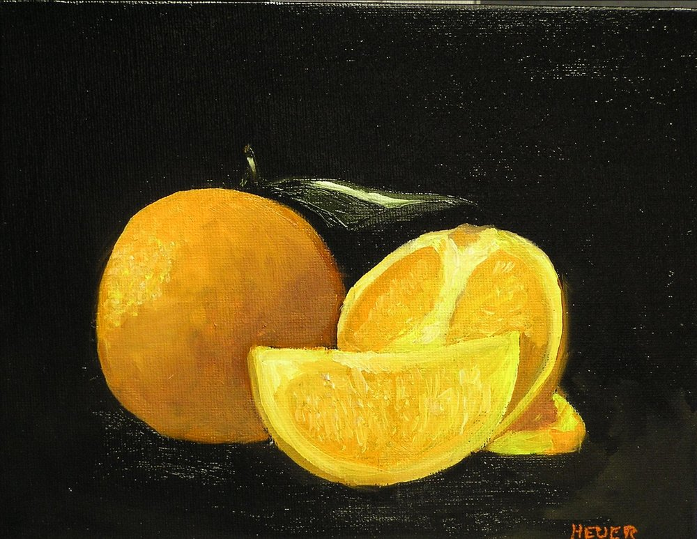"Lee Bardenheur's ""Oranges"""