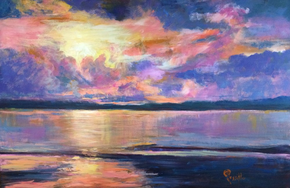 """Barbara Rossitto's """"Spectacular Sunset"""""""