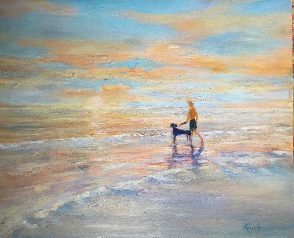 "Barbara Rossitto's ""End of a Perfect Day"""