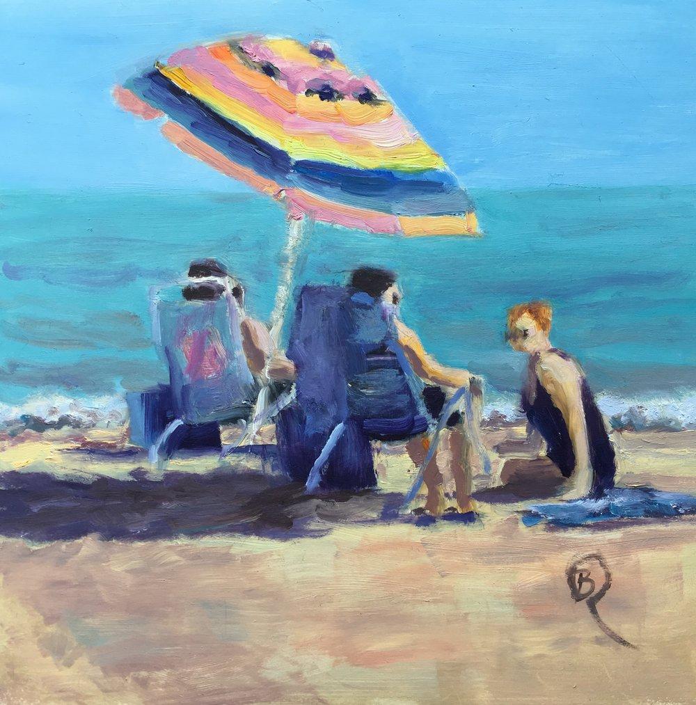 """Barbara Rossitto's """"Beach Day"""""""
