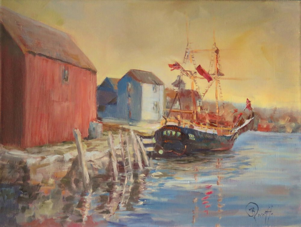 "Barbara Rossitto's ""Resting in Rockport"""