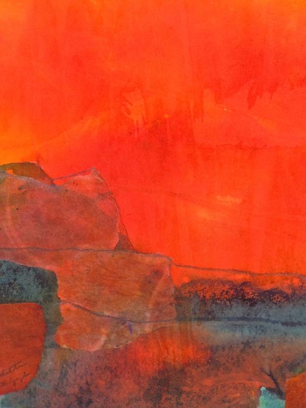 "Bernadette Bellizzi's ""Red Sky"""