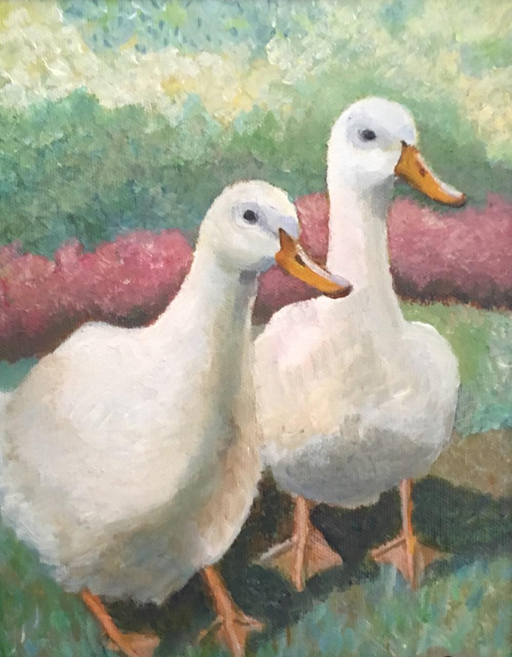 """Cathy Ciardiello's """"Duck Duo"""""""