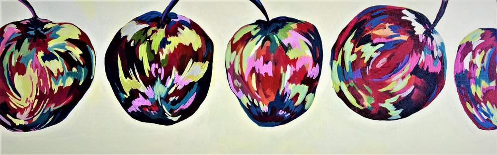 "Claudia Van Nes's "" Four and a Half Apples"""