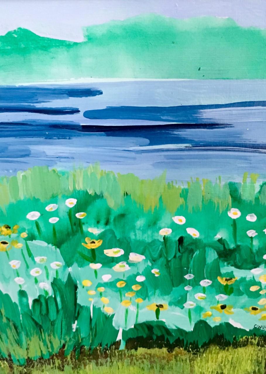 """Claudia Van Nes's """"Salt Water View"""""""