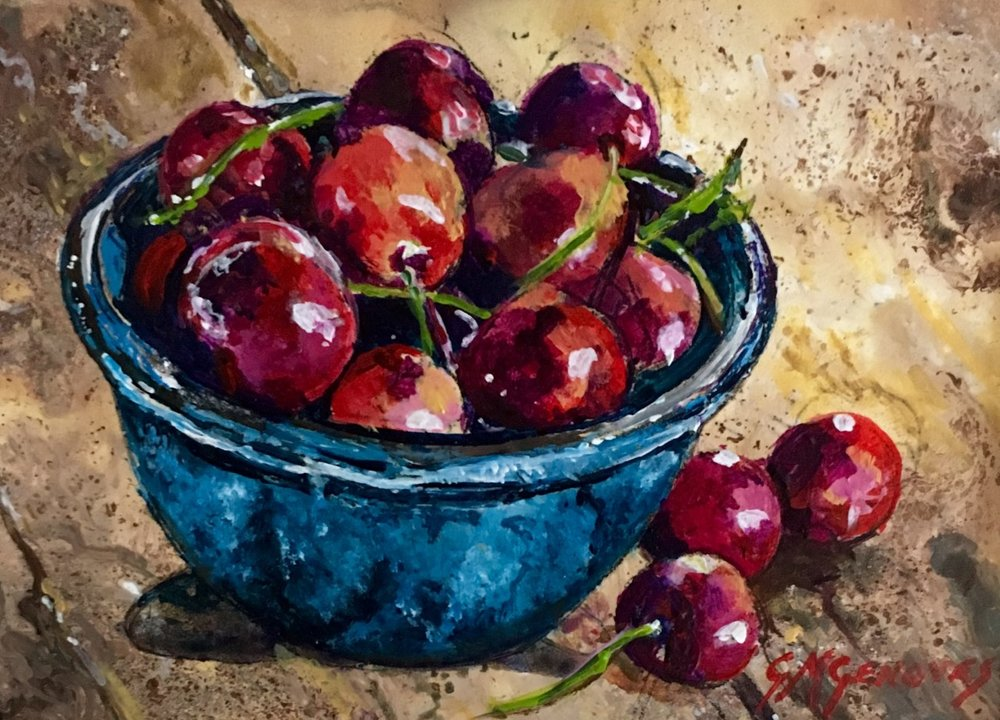 "Gigi Genovese's ""Riper Red Cherries"""