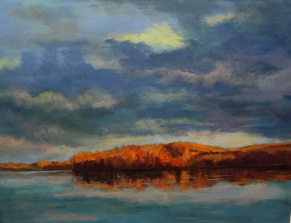 "Ishita Bandyo's ""Fall Evening"""