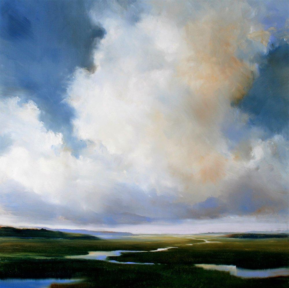 "Janine Robertson's ""Blue Drift"""
