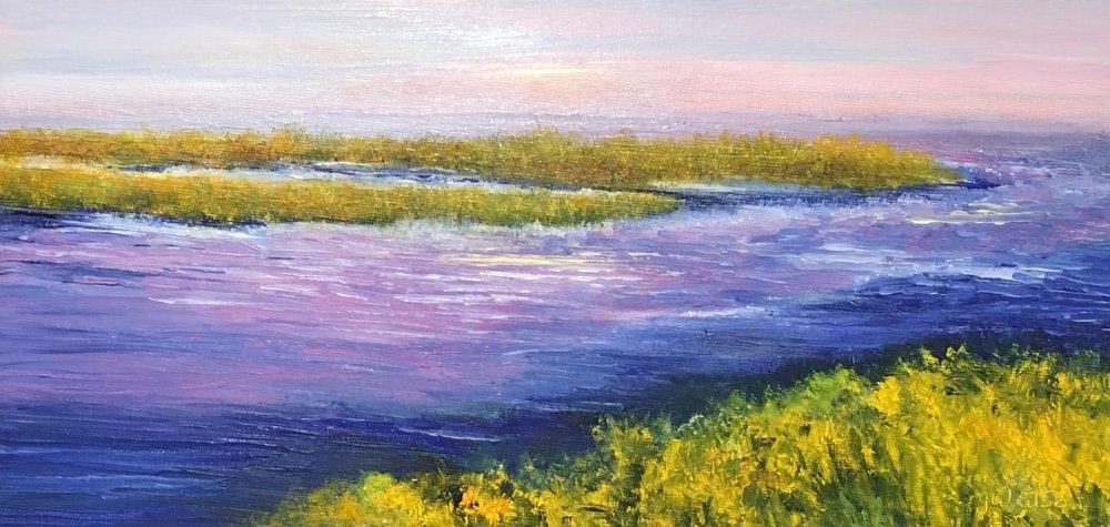 """Jean Watson's """"Old Saybrook Marsh"""""""