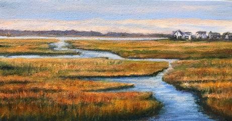 """Linda Boisvert-DeStefanis's """"Marsh to Plum Island"""""""