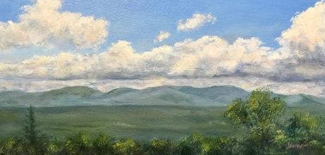 """Linda Boisvert-DeStefanis's """"View from the Porch"""""""