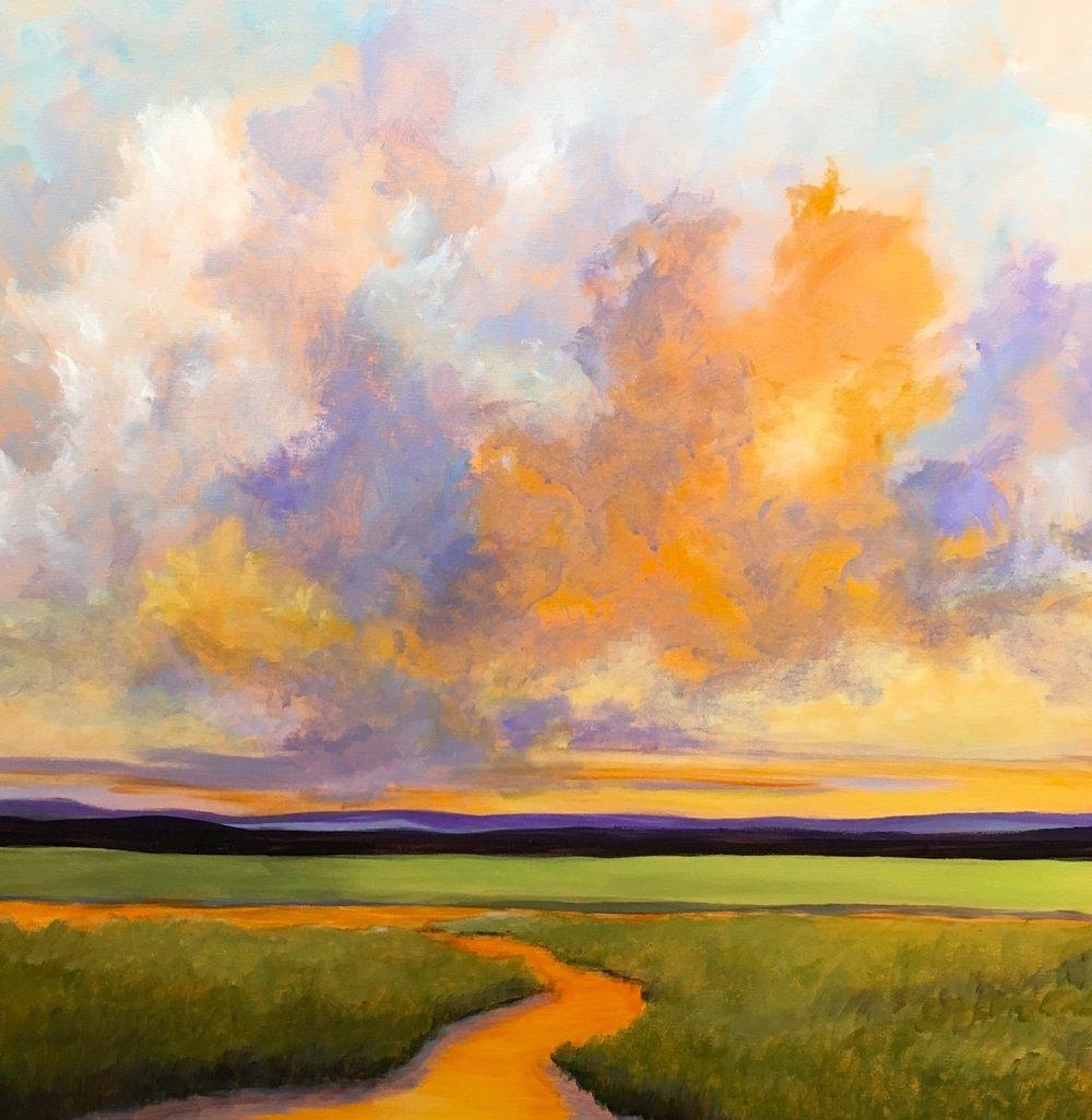 "Pam Carlson's ""Summer Warmth"""