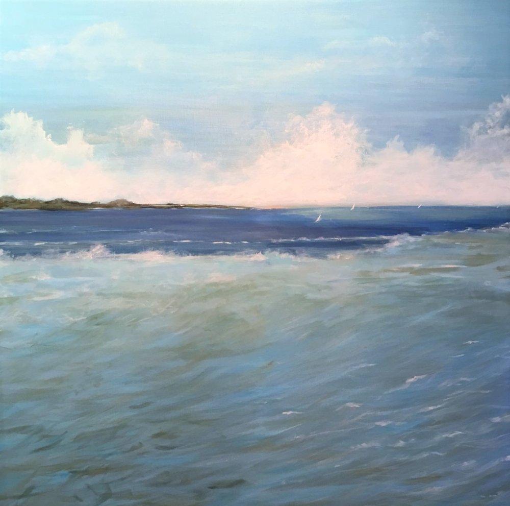 """Pam Carlson's """"Nantucket Shoals"""""""
