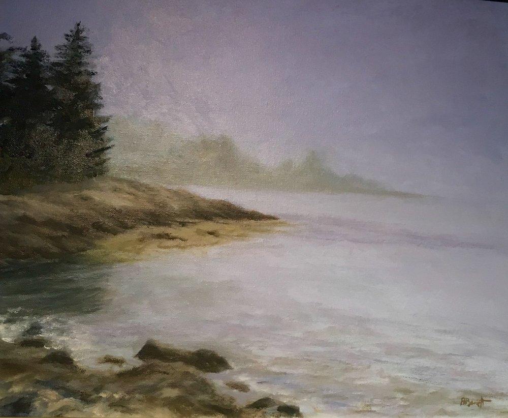 """Peter Barrett's """"Misty Morning"""""""