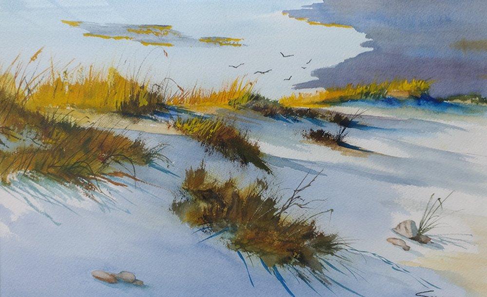 "Bob Spooner's ""Dune Shadows"""
