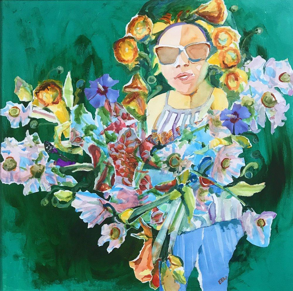 "Elizabeth B. Wright's ""I Picked the Flowers"""