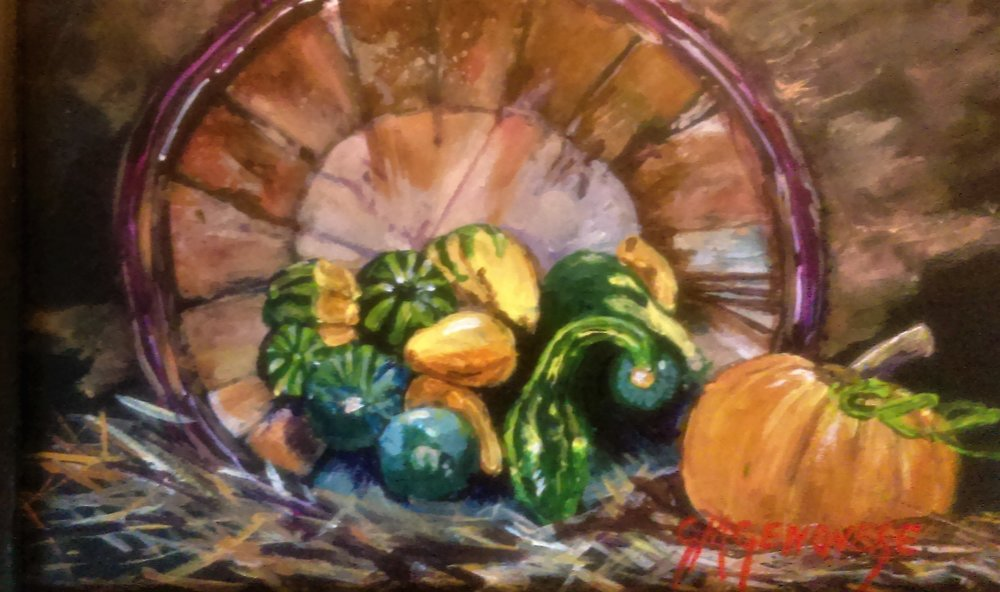 "Gigi Genovese's ""Gourd Basket"""