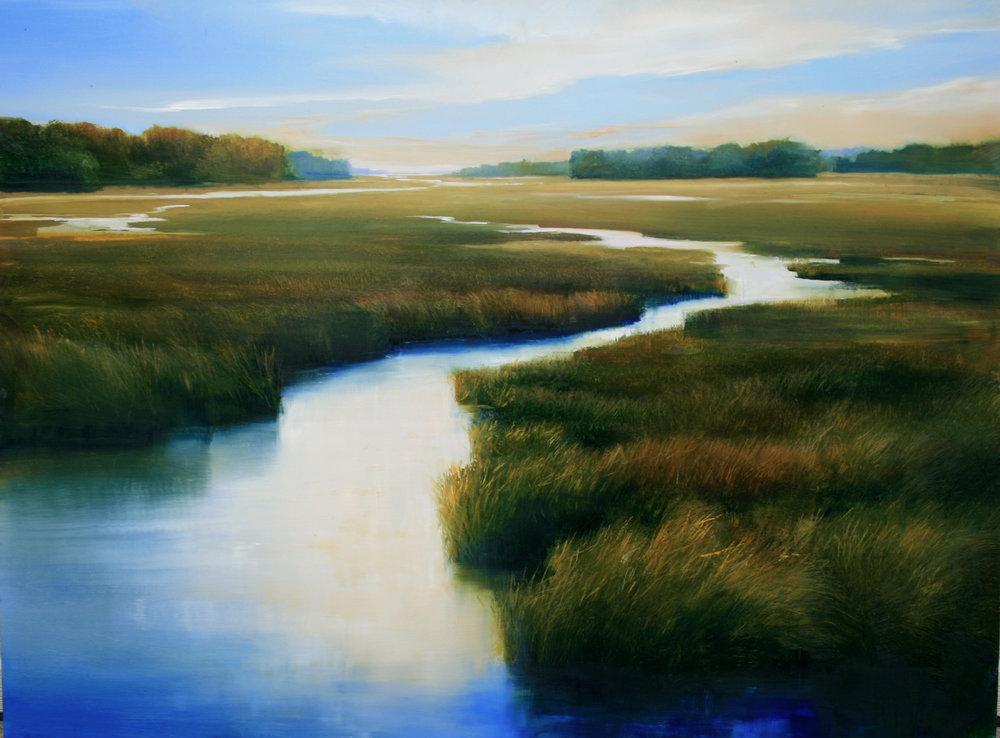 """Janine Robertson's """"Winding II"""""""