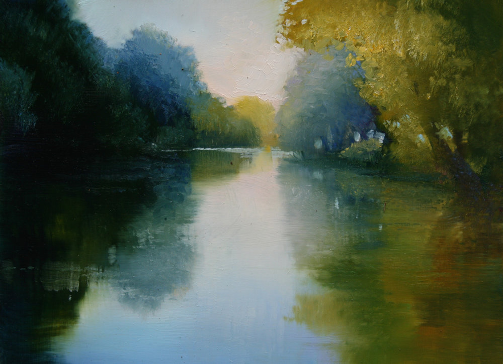 "Janine Robertson's ""River Reflection"""