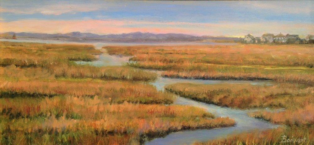 Last Light on the Marsh