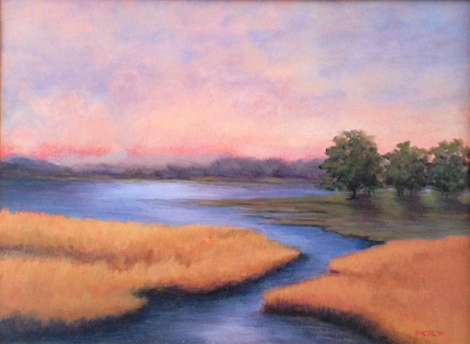 """Pam Carlson's """"Restful Place"""""""