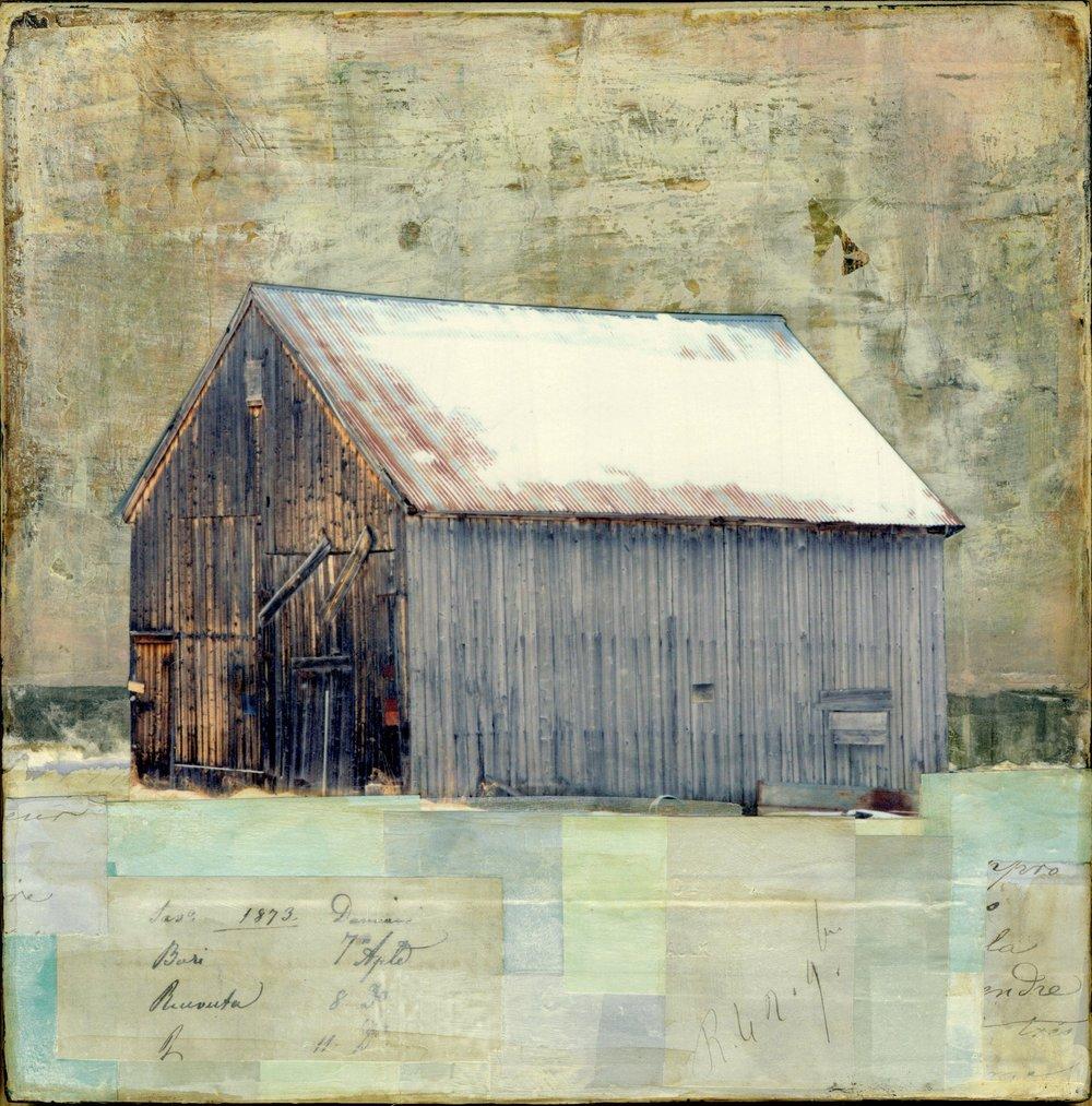 Snowy Barn II