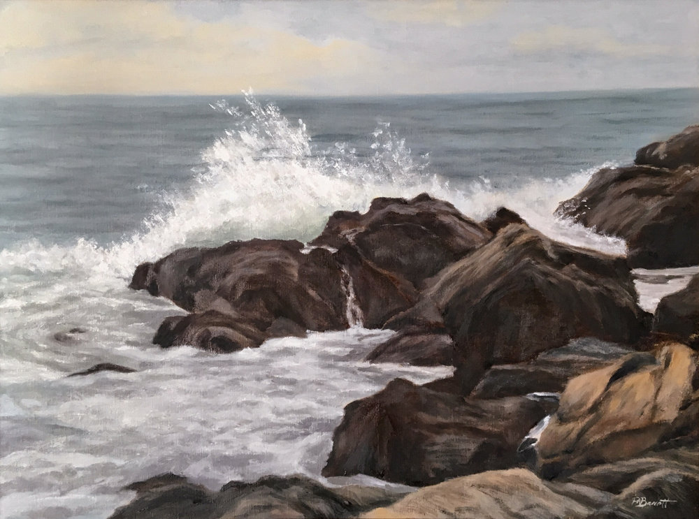 Marginal Way, oil, 18x24, Barrett.jpg