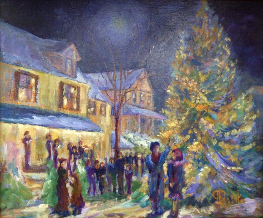 Lighting the Christmas Tree III
