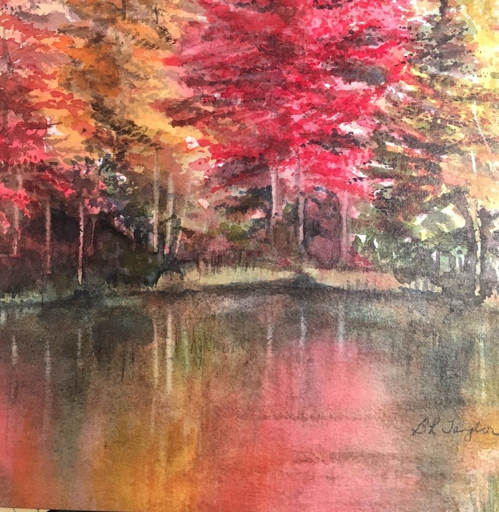 "BL Taylor's ""Autumn Reflections"""