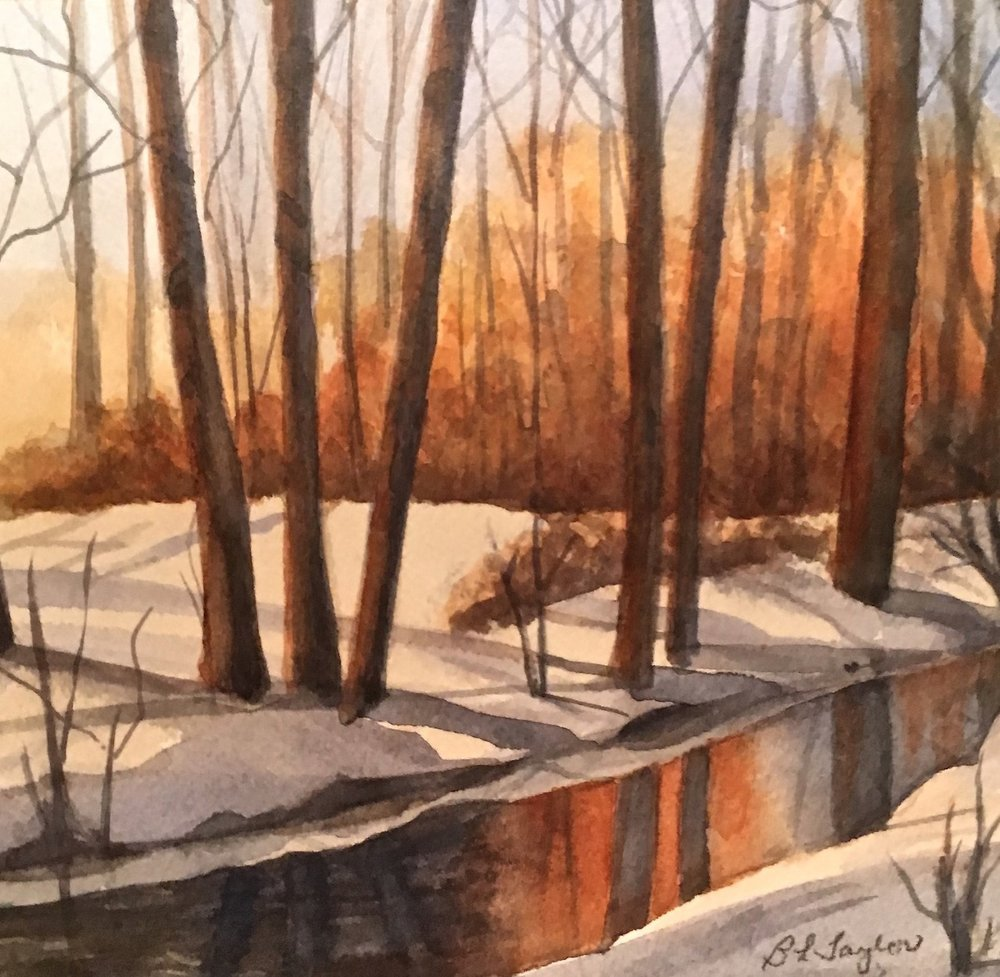 "BL Taylor's ""Winter Sunrise"""