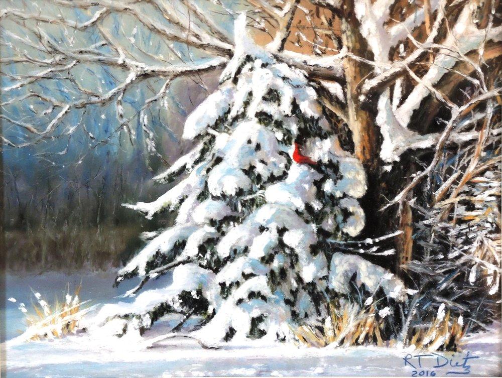 "Bob Dietz's ""Winter's Beauty"""