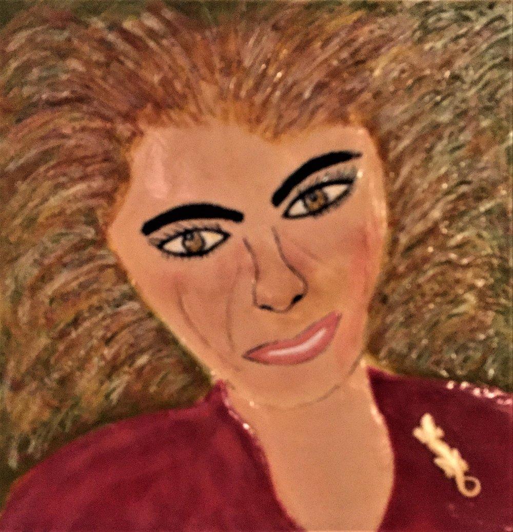 """Patricia Rushon's """"Where's My Brush?"""""""
