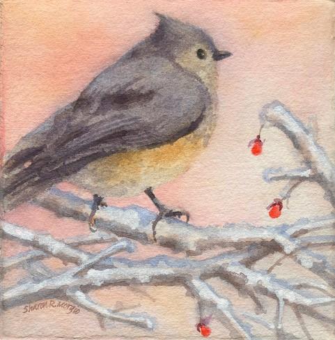 "Sharon Morgio's ""A Winter Moment"""