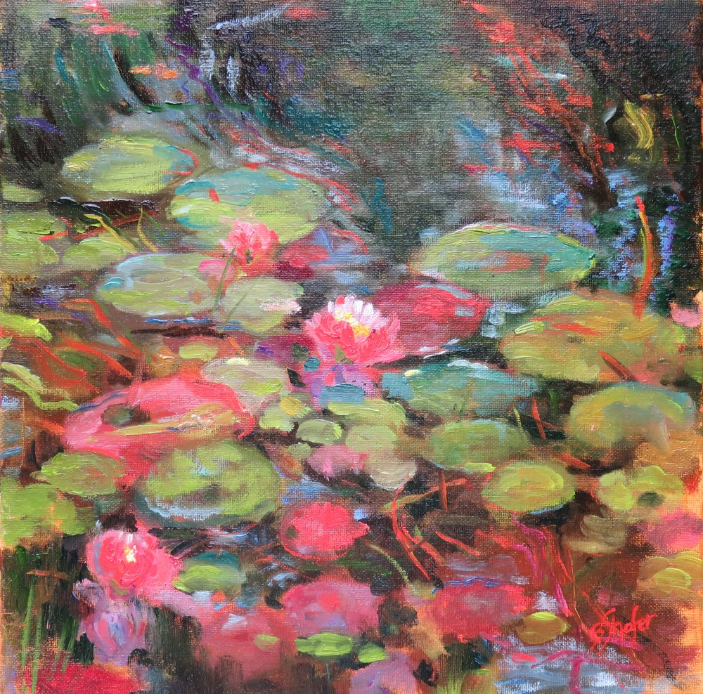 Lilies and Reflections