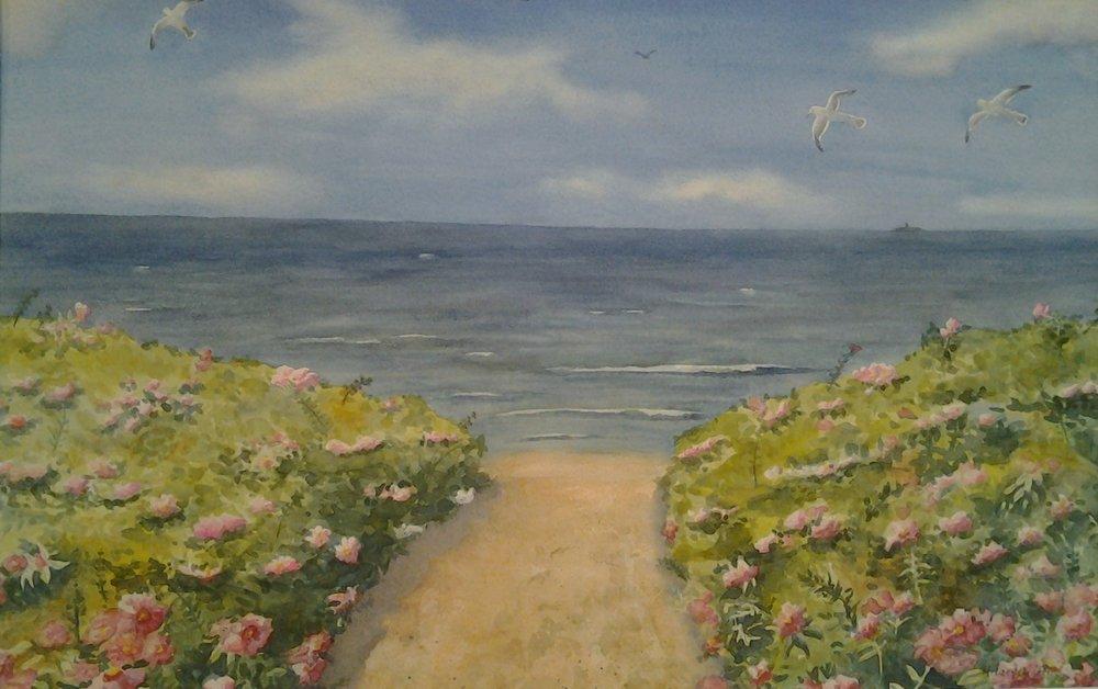 Beach Roses Path