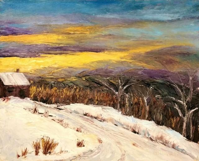 "Cindy Stevens ""Evening in Vermont"""