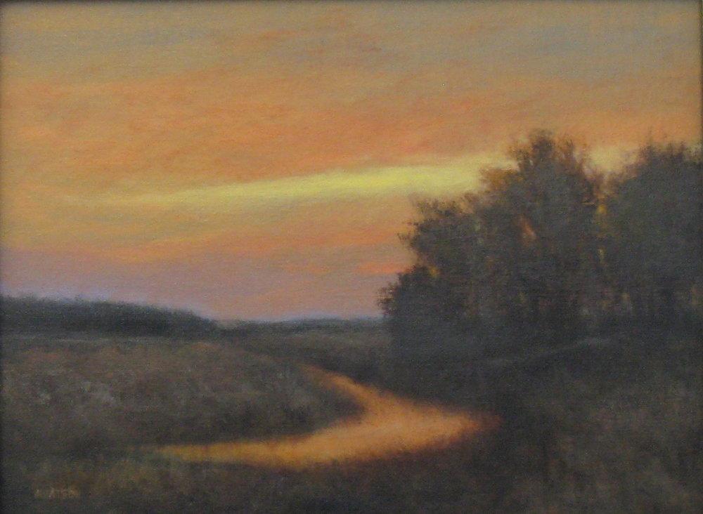 """Jean Watson's """"Dusk on the Creek"""""""