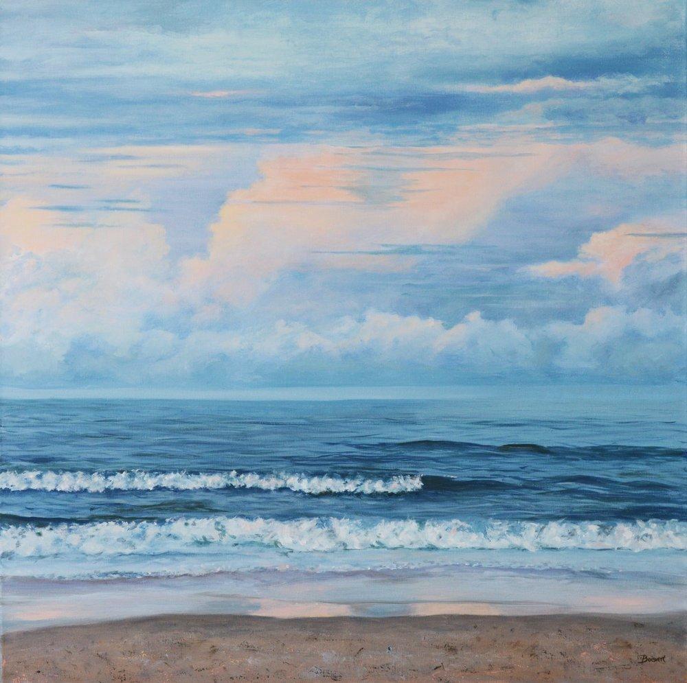 """Linda Boisvert DeStefanis's """"Ocean Blues"""""""