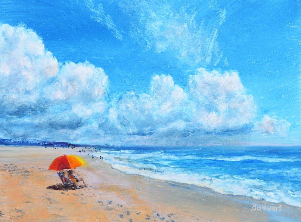 """Linda Boisvert-DeStefanis's """"Beach Day"""""""