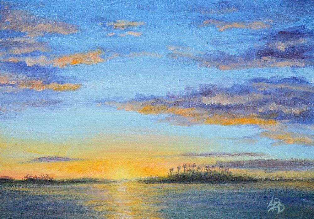 """Linda Boisvert-DeStefanis's """"Tropical Ending"""""""
