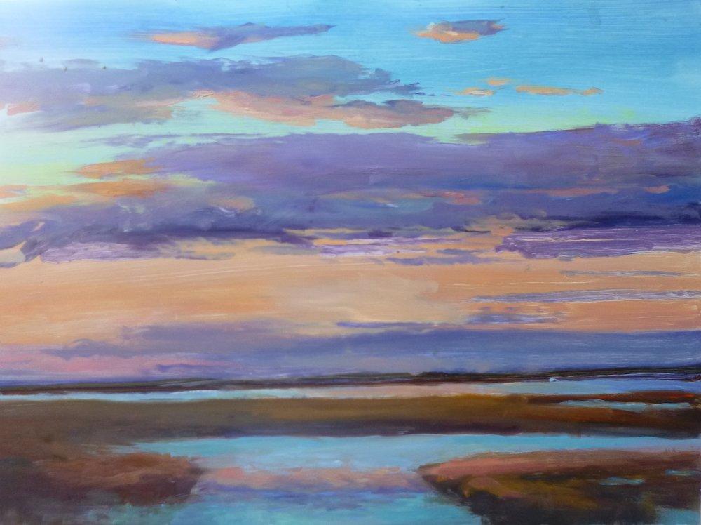 """Linda Lilling's """"Golden Marsh"""""""