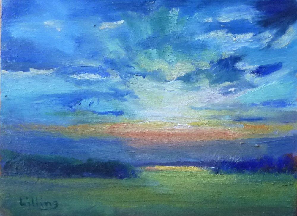 "Linda Lilling's ""Radiant Sky"""