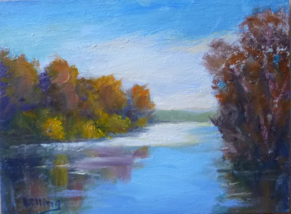 "Linda Lilling's ""Autumn on the River"""