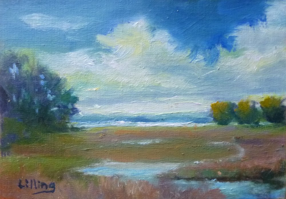 "Linda Lilling's ""Morning Clouds"""