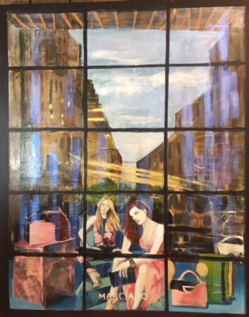 """Susan Scott Kenney's """"Manhattan City Window"""""""