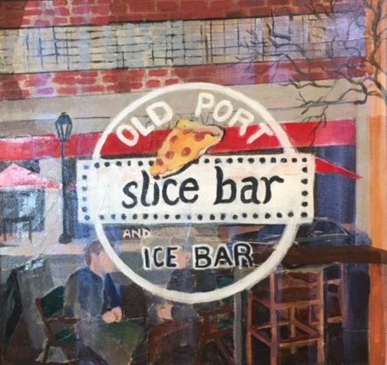 """Susan Scott Kenney's """"Old Port Slice Bar"""""""